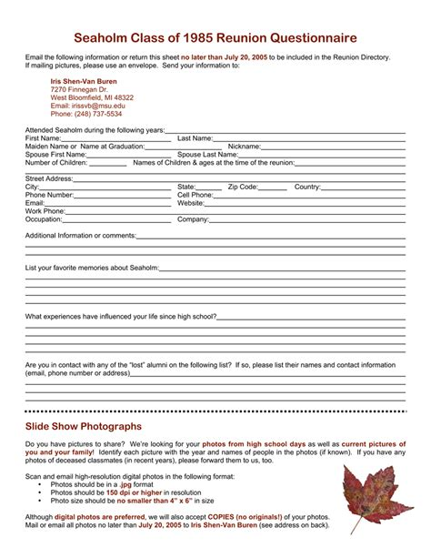 seaholm class of 1985 s 20 year reunion invitation and details