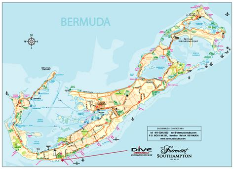 bermuda on a map bermuda overview map bermuda mappery