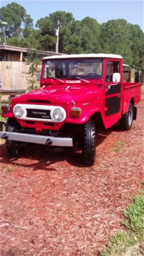 1979 Toyota 4x4 For Sale Find Used 1979 Toyota Land Cruiser Hj 45 Diesel 4x4