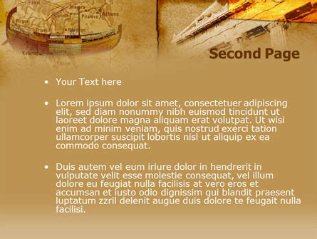 classic ancient greece powerpoint template backgrounds