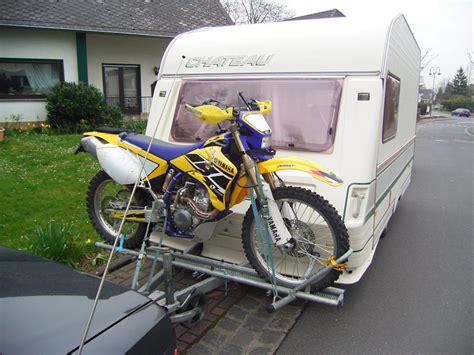 Motorrad Mit Wohnwagen Transportieren by Caravan Travel Info просмотр темы транспортировка