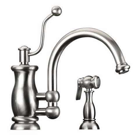 Mico Kitchen Faucets by Mico Seashore Series With Spray 7705 Kitchen Faucet