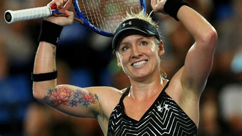 big boobed and tattooed big tennis player wallpaper