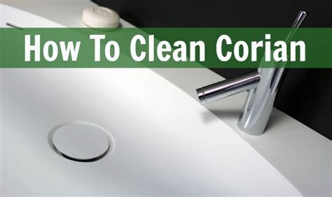 how to clean stained white corian sink how to clean corian home ec 101