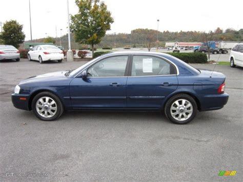 2005 Kia Optima Lx Imperial Blue 2005 Kia Optima Lx V6 Exterior Photo