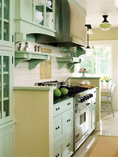seafoam green kitchen cabinets 25 ways to remodel your craftsman style kitchen