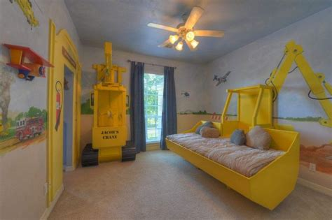 construction themed bedroom construction theme kids room awesome ideas for