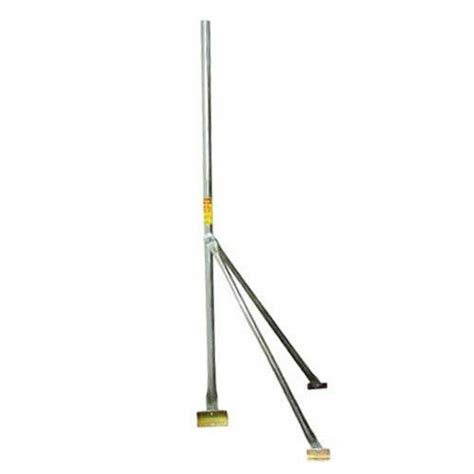 antenna mast pole 5 ft tripod roof mount sloped peak for tv wifi antenna ebay