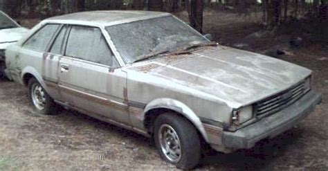 1982 Toyota Parts 1982 Toyota Corolla Liftback Parts Car Chagne