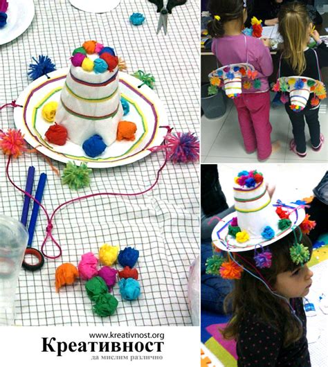 How To Make A Mexican Sombrero Out Of Paper - diy paper plate mexican sombrero projects
