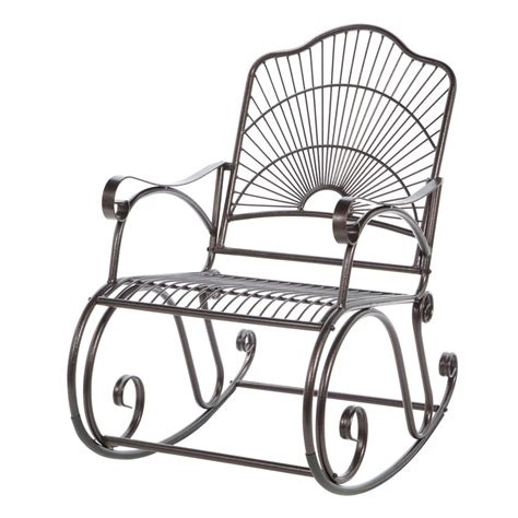 Patio Rocking Chairs Metal Metal Patio Rocking Chair Jacshootblog Furnitures Choosing A Patio Rocking Chair