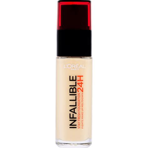 l shades l or 233 al infallible 24hr foundation various shades free delivery