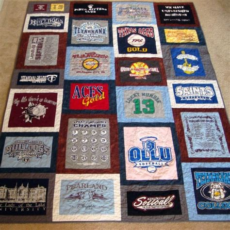 Modern T Shirt Quilt by Dolce Originals Modern Quilts And Diy Projects