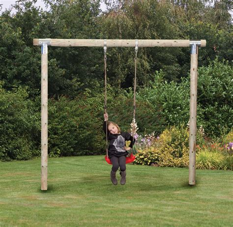 out door swing set garden swings climbing frames