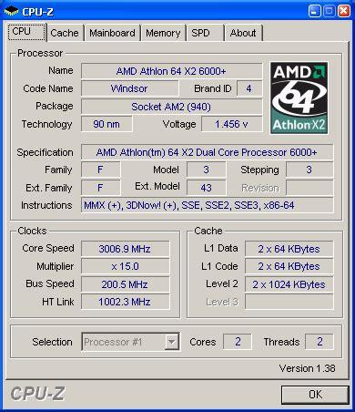 Hw K8 amd athlon 64 x2 6 000 ora a 3 ghz pagina 1