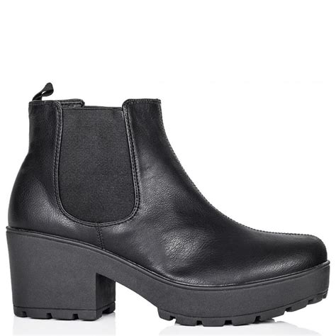 buy celebrate cealted sole platform chelsea ankle boots