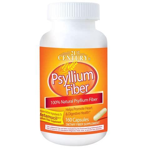 supplement 21st century 21st century psyllium fiber 160 capsules iherb