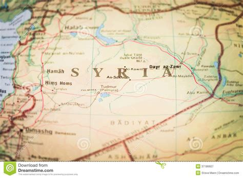 middle east map damascus syria royalty free stock photography image 37186607