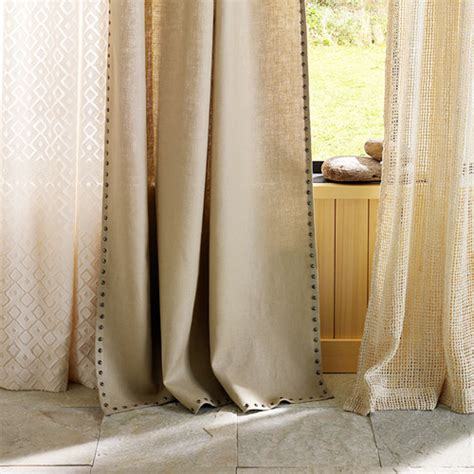 how to make linen curtains linen curtains