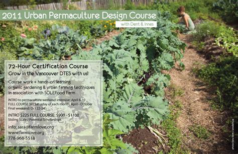 Permaculture Design Certificate Vancouver | farm love vancouver urban permaculture design course