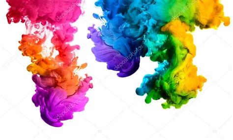 colorful pictures colorful ink in water rainbow of colors color explosion