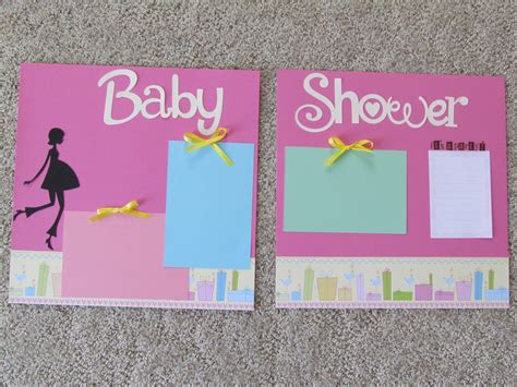 Baby Shower Scrapbook Pages by Scrapbooking My Page 2