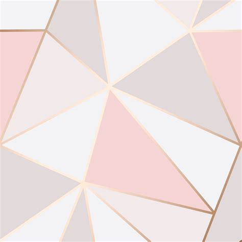 Geometric Marble gold pink grey beige wallpaper stripe geometric