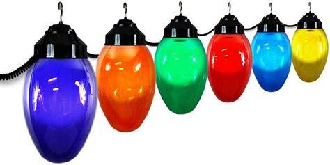 jumbo christmas light polymer products llc 1661 10521 bulb six globe string light set ebay