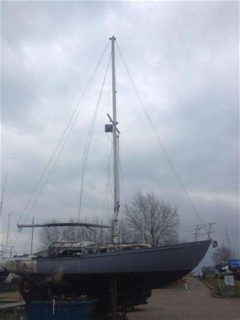 boot 12 meter te koop mast 12 meter met bijbehorende zeilen van 3 jaar oud