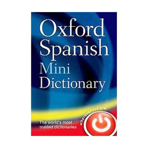 oxford spanish mini dictionary english wooks