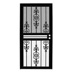 home depot security door unique home designs estate black outswing all season