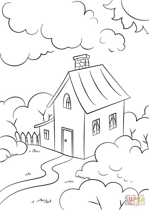 biltmore house coloring pages click the lovely house with garden how to draw drawing