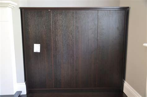 Living room alcove cupboards in black/brown Oak   DIY