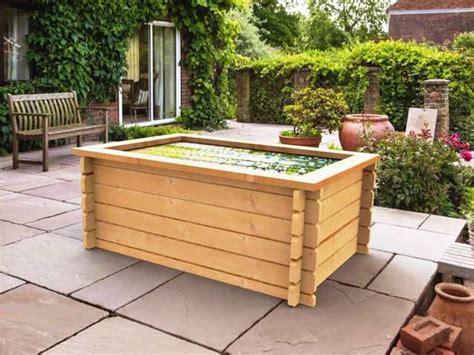 raised garden pond kit  liner ft  ft