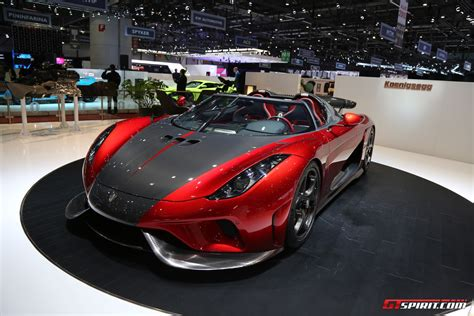 Geneva 2017 Koenigsegg Regera Production Spec Gtspirit