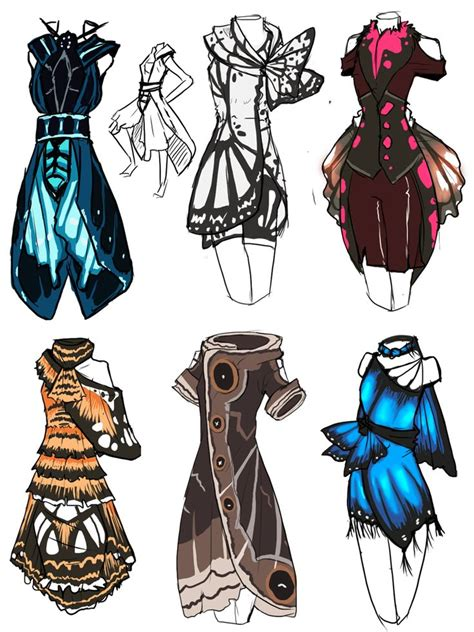 design ideas dress incorporating butterflies in to dress designs simply