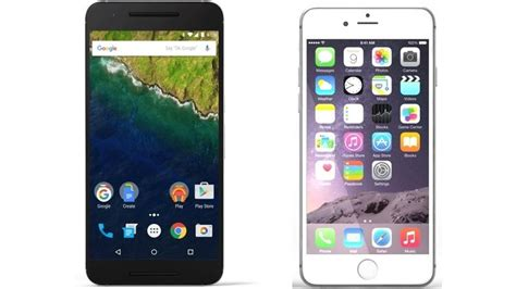 nexus 6p vs apple iphone 6s plus top smartphones compared neurogadget