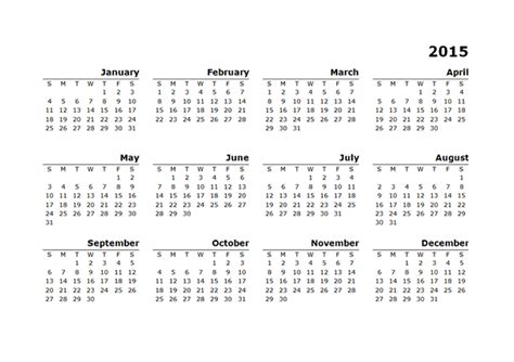 template for 2015 year calendar page 2 search results