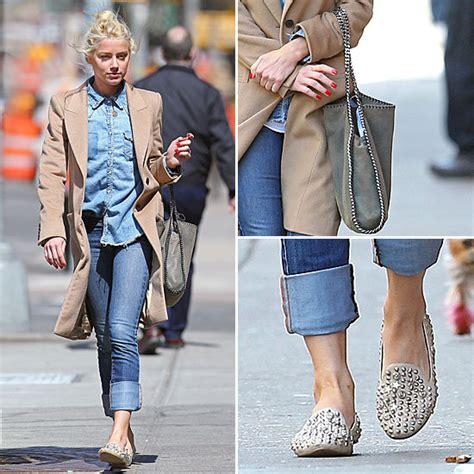 Tasya Jumpsuit heard studded loafers by jeffrey cbell popsugar
