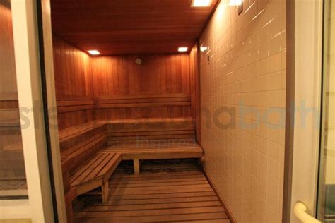 Sauna Room Near Me by Sauna Room With Tile And Wood As Well As Two Tiered Benching Photo Gallery And Image Library