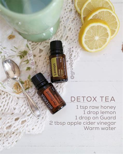 Doterra Detox Tea by 25 B 228 Sta On Guard Essential Id 233 Erna P 229