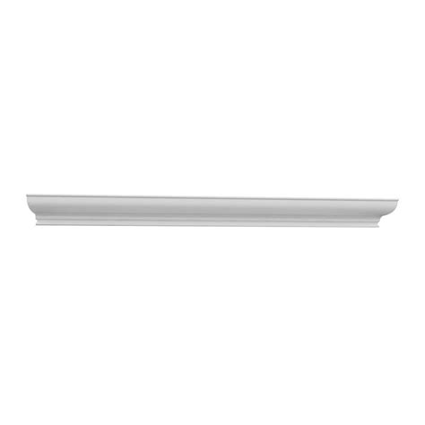 home depot crown molding for cabinets hton bay 2x0 75x90 in traditional crown molding in
