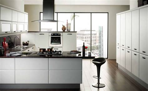 White Contemporary Kitchen Cabinets Modern White Kitchen Cabinets Best Kitchen Places