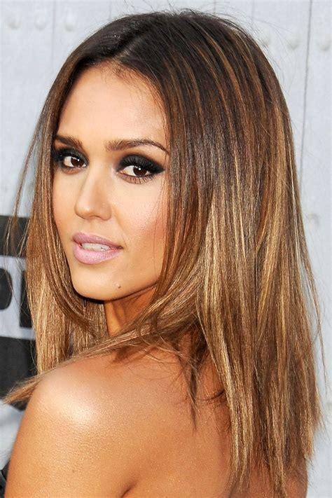model  warna rambut highlight pendek panjang