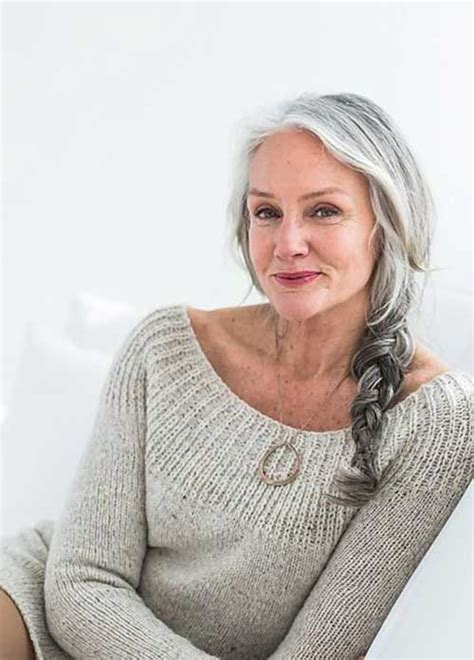 can older women wear braids best long hair for older women soft smooth hair in loose