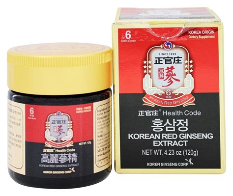 Korean Ginseng Extract buy korea ginseng corp korean ginseng extract 4 23 oz at luckyvitamin