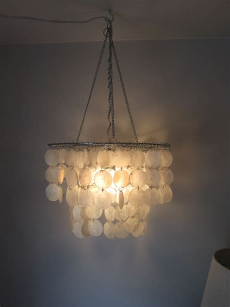 diy capiz shell chandeliers guide patterns