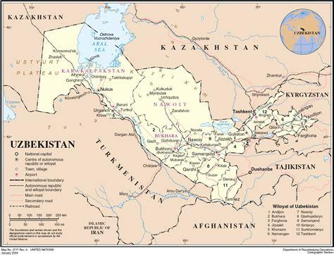 Uzbekistan Search File Uzbekistan Map Jpg