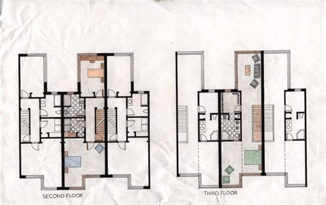 philadelphia row house floor plan rowhouses