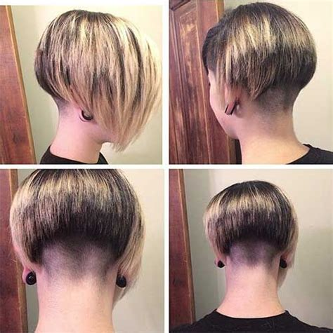 bob haircuts cut short into the neck this bob hairstyle is usually an a line cut that narrows